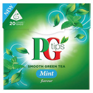 PG Tips Mint Green Tea - 25's - Pack of 2 (25's x 2)