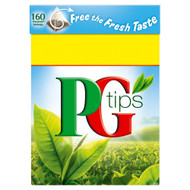 PG Tips Tea Bags - 160's - Pack of 2 (160's x 2)