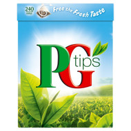 PG Tips Tea Bags - 240's - Pack of 2 (240's x 2)