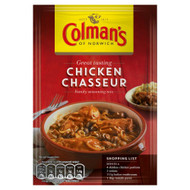 Colman's Chicken Chasseur Mix - 43g - Pack of 4 (43g x 4)