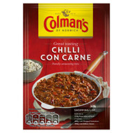 Colman's Chilli Con Carne Mix - 50g - Pack of 4 (50g x 4)