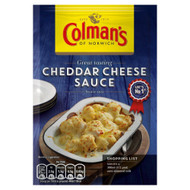 Colman's Cheddar Cheese Sauce Mix - 40g - Pack of 2 (40g x 2)
