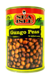Sea Isle - Gungo Peas in Salted Water - 400g (pack of 4)