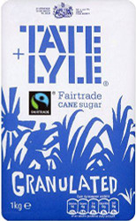 Tate & Lyle Fairtrade Sugar 1kg Bag (Pack of 15)