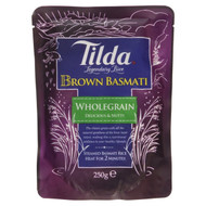 Tilda Steamed Basmati Brown Rice -6 x 250g