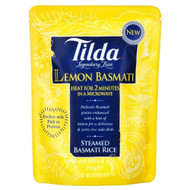 Tilda Steamed Basmati Lemon Rice - 250g (Pack of 6)