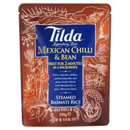 Tilda Steamed Basmati Mexican Chilli & Bean Rice - 250g (Pack of 6)