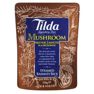 Tilda Steamed Basmati Mushroom Rice - 250g (Pack of 6)
