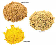 Jalpur Millers Spice Combo Pack - Ginger Powder - 100g - Turmeric Powder 100g - Coriander Powder 100g (3 Pack)