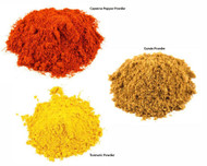 Jalpur Millers Spice Combo Pack - Cayenne Pepper Powder 100g - Turmeric Powder 100g - Cumin Powder 100g (3 Pack)