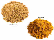 Jalpur Millers Spice Combo Pack - Curry Powder 100g - Coriander Powder 100g (2 Pack)