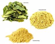 Jalpur Millers Spice Combo Pack - Fenugreek Powder 100g - Asafoetida 50g - Dried Curry Leaves 50g (3 Pack)