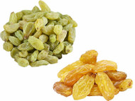 Jalpur Millers Dry Fruit Pack - Golden Sultana 150g - Green Raisins 150g (2 Pack)