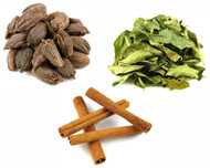 Jalpur Millers Spice Combo Pack - Black Cardamom Pods 100g - Cinnamon Quills 100g - Dried Curry Leaves 50g (3 Pack)