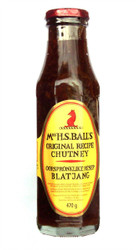 Mrs H.S.Balls - Original Recipe Chutney - 470g (Pack of 2)
