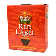 Brooke Bond - Red Label Loose Leaf Black Tea - 450g (Pack of 2)