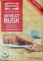Britannia - Wheat Rusk with Added Cardamom - 350g (Pack of 2)