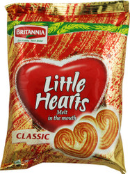 Britannia - Little Hearts Biscuits - 75g (Pack of 15)