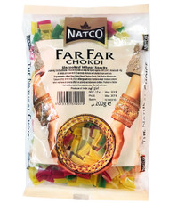 Natco - Far Far Chokdi (Uncooked Wheat Snacks) - 200g