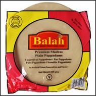 Balah - Plain Madras Pappadams Restuarant Style - 200g (Pack of 2)