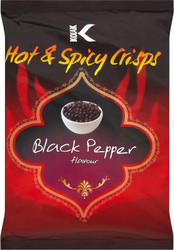 Kolak - Black Pepper Crisps - 25g (Pack of 10)