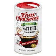 Tony Chachere's - Salt Free Seasoning (Salt Alternative) - 227g