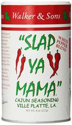 Walker & Sons - Slap Ya Mama Cajun Seasoning (White Pepper Blend) - 227g (Pack of 2)