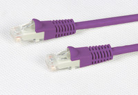 Cat 6 Purple UTP Patch Lead 250MHz