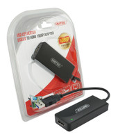 USB 3.0 to HDMI Adapter Supports resolutions up to 1080p