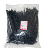 250mm x 4.8mm Cable Tie (Packs of 1000) - Black UV Resistant