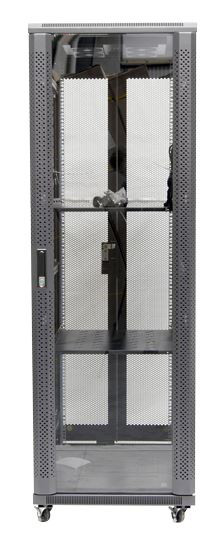 37RU network server rack cabinet 1000mm deep - front