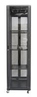 42RU network server rack cabinet 1000mm deep - front