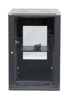 18RU Wall mount server rack cabinet Swing Frame