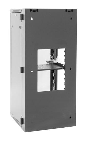 24RU Wall Mount Server Rack Cabinet 600mm Deep Swing Frame - Rear