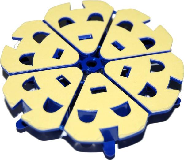 Fibre Management Speedway Bend Radius Spool with adhesive sticker