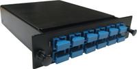 MTP OS1 12 Port SC Simplex Singlemode Fibre Cassette