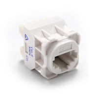 Cat6 RJ-45 Jack for use with RJ45 plugs T568A only