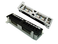 Mini 12 Port Cat5e Patch Panel