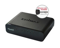 EDIMAX 5 Port 10/100/1000 Gigabit Switch, Desktop Model