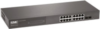 SMC 16 Port Gigabit Smart Managed Ethernet Switch with 2 SFP Ports