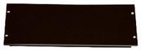 4RU Black Blanking Panel