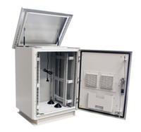 18RU Outdoor Dust Proof Freestanding Server Rack Cabinet Vented IP45
