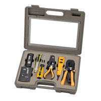 10 Piece Network Installation Tool Kit SPROTEK