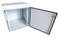 9RU Outdoor Dust Proof Wall Mount Server Rack Cabinet Non-Vented IP65