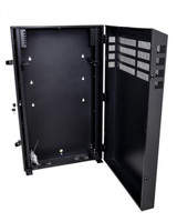 6RU Vertical Wall Mount Cabinet with 2U Horizontal Mount