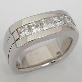 Men's Diamond Wedding Band diawb137-diamond-wedding-band