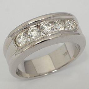 Men's Diamond Wedding Band diawb135-diamond-wedding-band