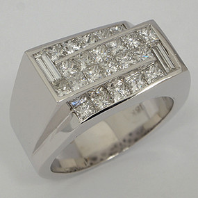 Men's Diamond Wedding Band diawb124-diamond-wedding-band