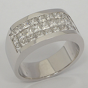 Men's Diamond Wedding Band diawb119-diamond-wedding-band
