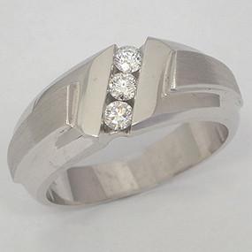 Men's Diamond Wedding Band diawb118-diamond-wedding-band
